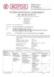 Conformity declaration