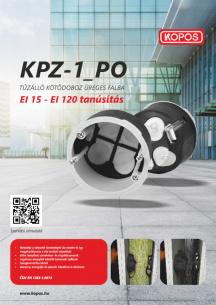 KPZ-1_PO Tűzálló kötődoboz üreges falba