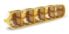 KPL 64-50/5LD_NA – gipszkarton doboz gumis bevezetőnyílásokkal