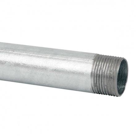 6013 ZN F - ocelová trubka závitová žárově zinkovaná (ČSN)