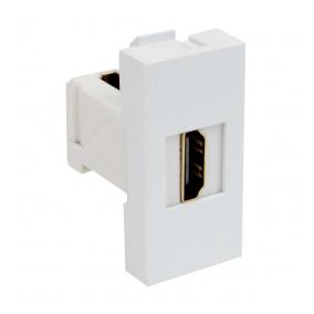 QD 45X22.5-HDMI HB - zásuvkový modul QUADRO - zásuvka datová s koncovkou HDMI