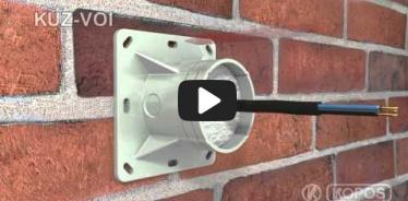 Embedded thumbnail for Szerelési utasítások hőszigetelő burkolatba szerelt KUZ-VOI univerzális, nyitható fedeles dobozhoz