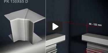 Embedded thumbnail for Telepítési utasítás a PK 130X65 D mellvédcsatornához