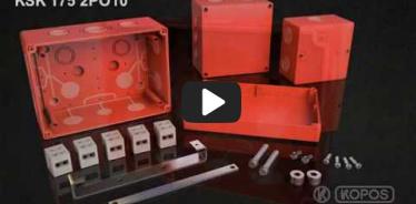 Embedded thumbnail for Szerelési utasítások funkcióit tűz esetén is megtartó KSK 175 PO dobozhoz