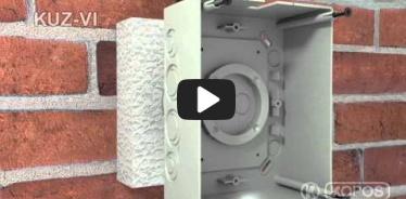 Embedded thumbnail for Szerelési utasítások hőszigetelő burkolatba szerelt KUZ-VI univerzális fedeles dobozhoz