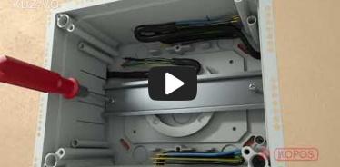 Embedded thumbnail for Szerelési utasítások KUZ-VO univerzális, nyitható fedeles dobozhoz