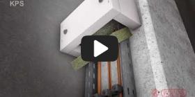 Embedded thumbnail for Szerelési útmutató a KPS kábelbilincs fedélhez