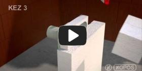 Embedded thumbnail for Szerelési utasítások hőszigetelő burkolatba szerelt KEZ-3 több sorolható készülékhez való szerelődobozhoz