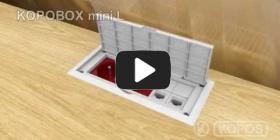 Embedded thumbnail for Szerelési utasítások KOPOBOX mini L multifunkciós villanyszerelési dobozhoz
